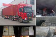 Kenya cargo packing and delivery site
