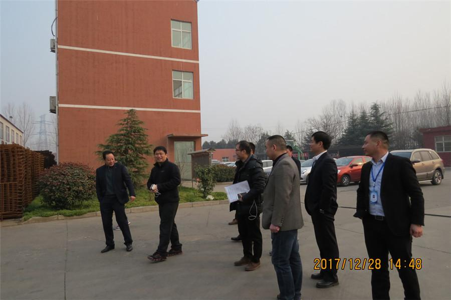 Wenz Nanmu group delegation visit our manufacturing base in Jiyuan city
