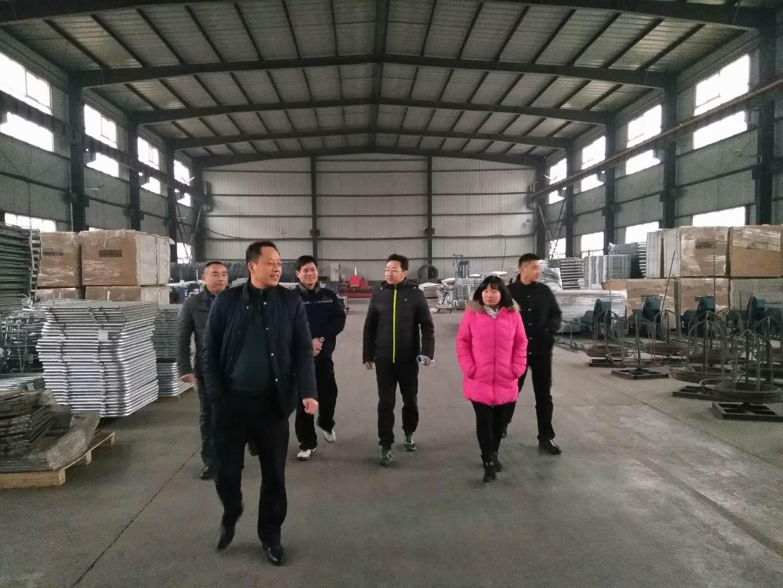 China Livestock Association Visit HUALUO