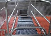 What are the advantages of farrowing crates?