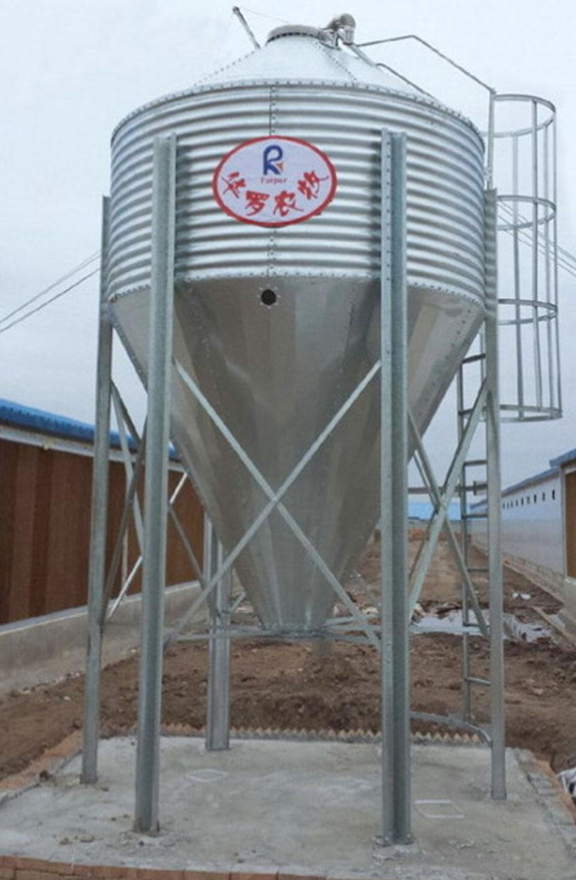 Hot dip galvanized silo