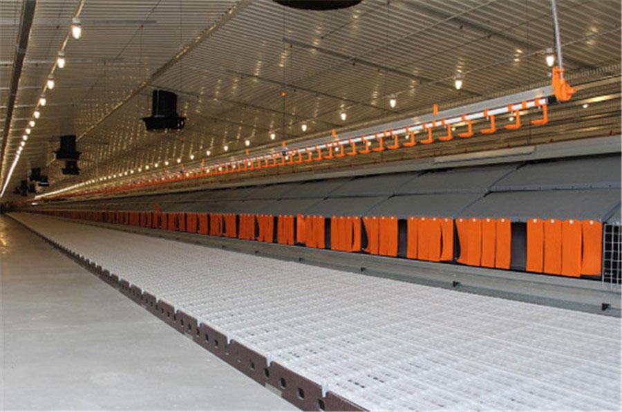 Slat Floor system
