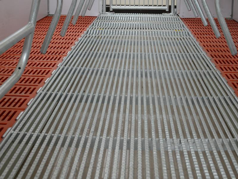 welded metal floor