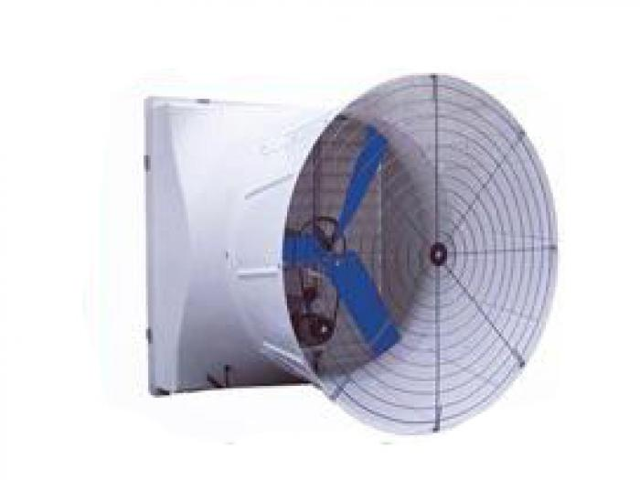 Fiber glass cone fan