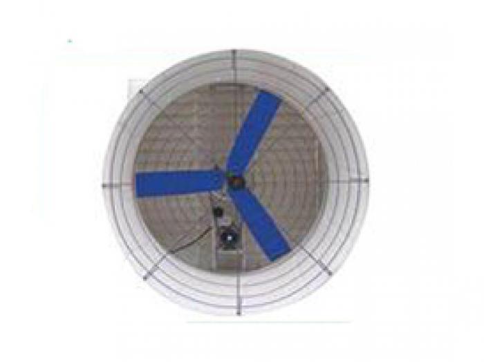 Fiber glass cone fan